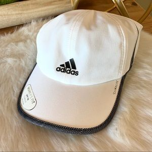 NWT- Adidas clima superlite adjustable hat upf 50